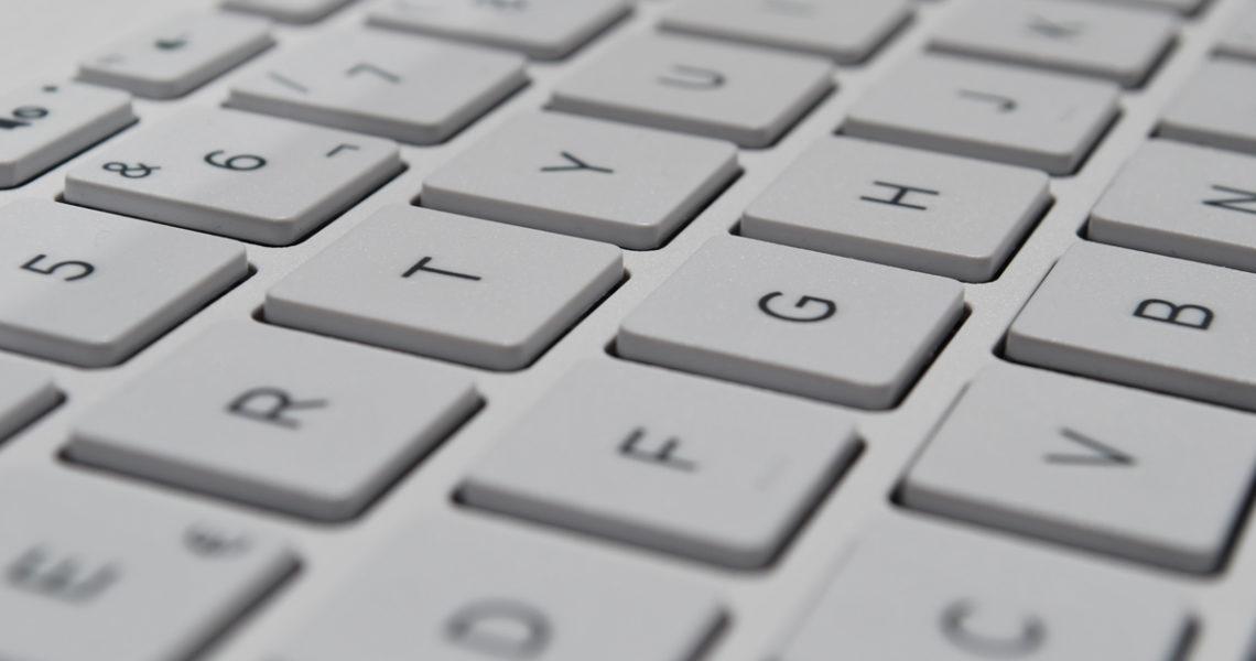 Toetsenbord Apple in beeld