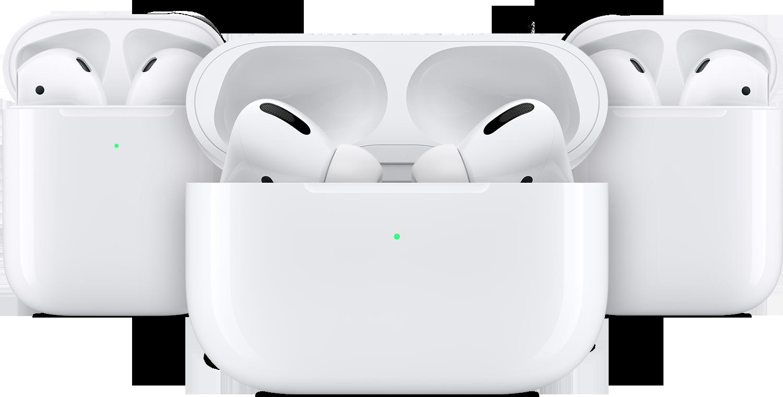 Apple AirPods drie verschillende modellen