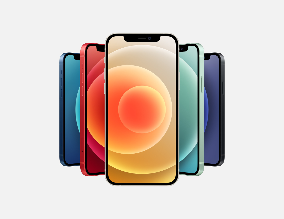 Nieuwe iPhones op een rij