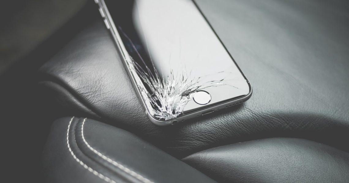 Een defecte Apple iPhone